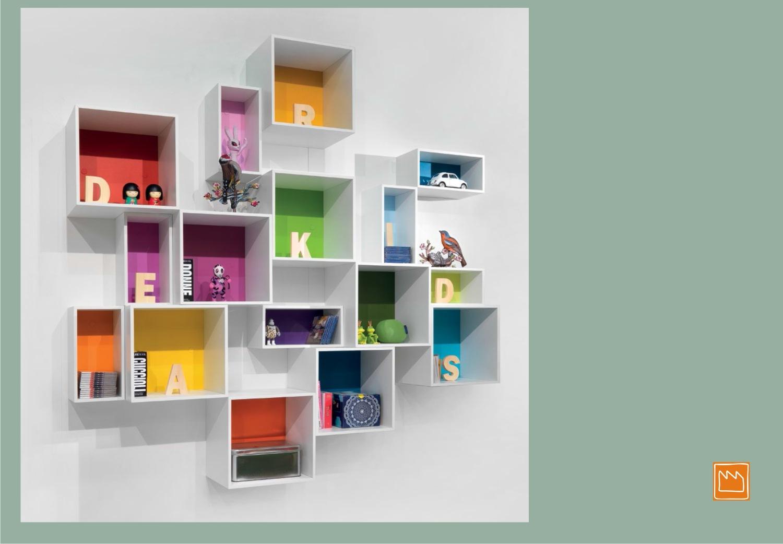 Contenitori puzzle camerette per ragazzi - Foto di camerette per bambini ...