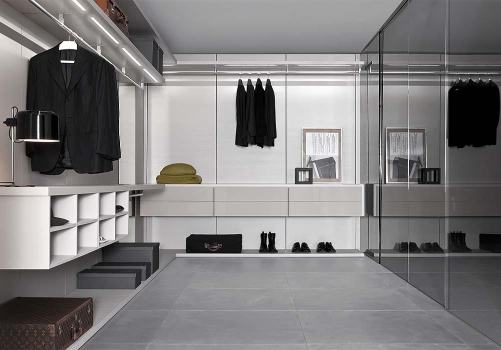 Cabine armadio a parete camere e camerette - Mobili per cabine armadio ...
