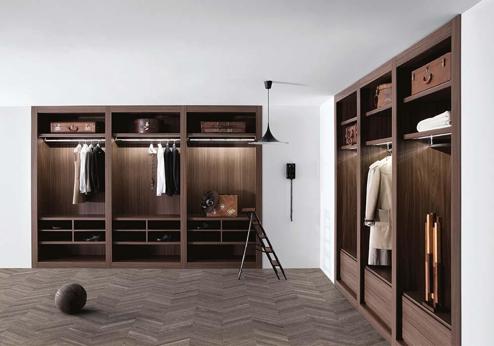 Cabine armadio a parete - Camere e camerette