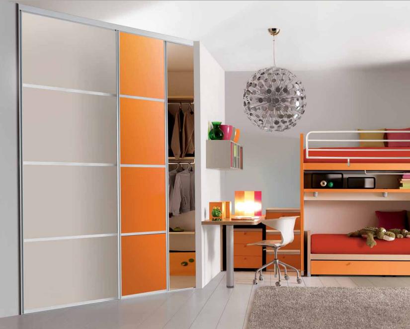 Cabine armadio a parete camere e camerette - Ante cabine armadio ...