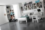 armadio con palestra integrata