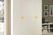 armadio battente bianco