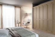 camere matrimoniali in legno d'abete