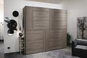 armadio scorrevole in legno