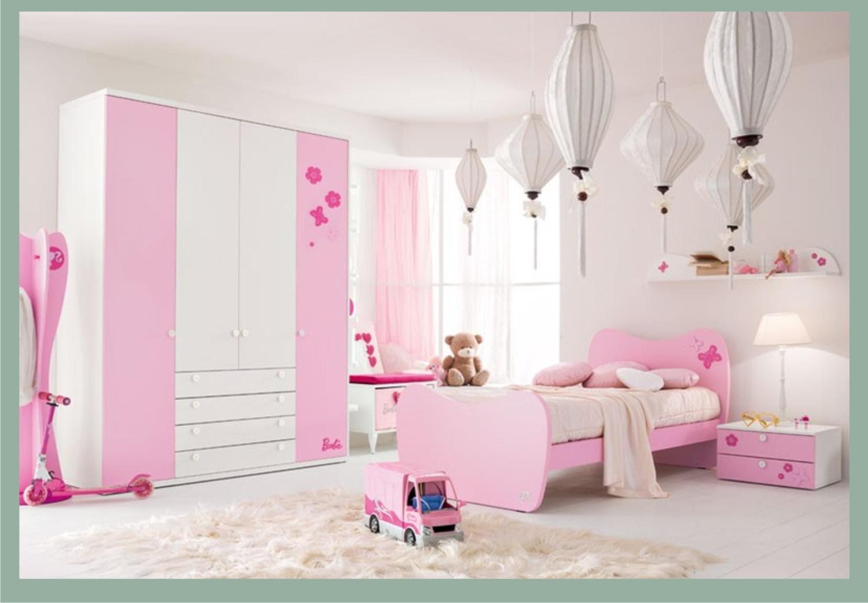 La cameretta di barbie doimo cityline camerette per ragazze for Rosa dei mobili torino