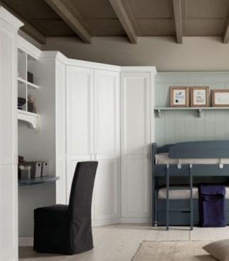 cabina armadio legno massello