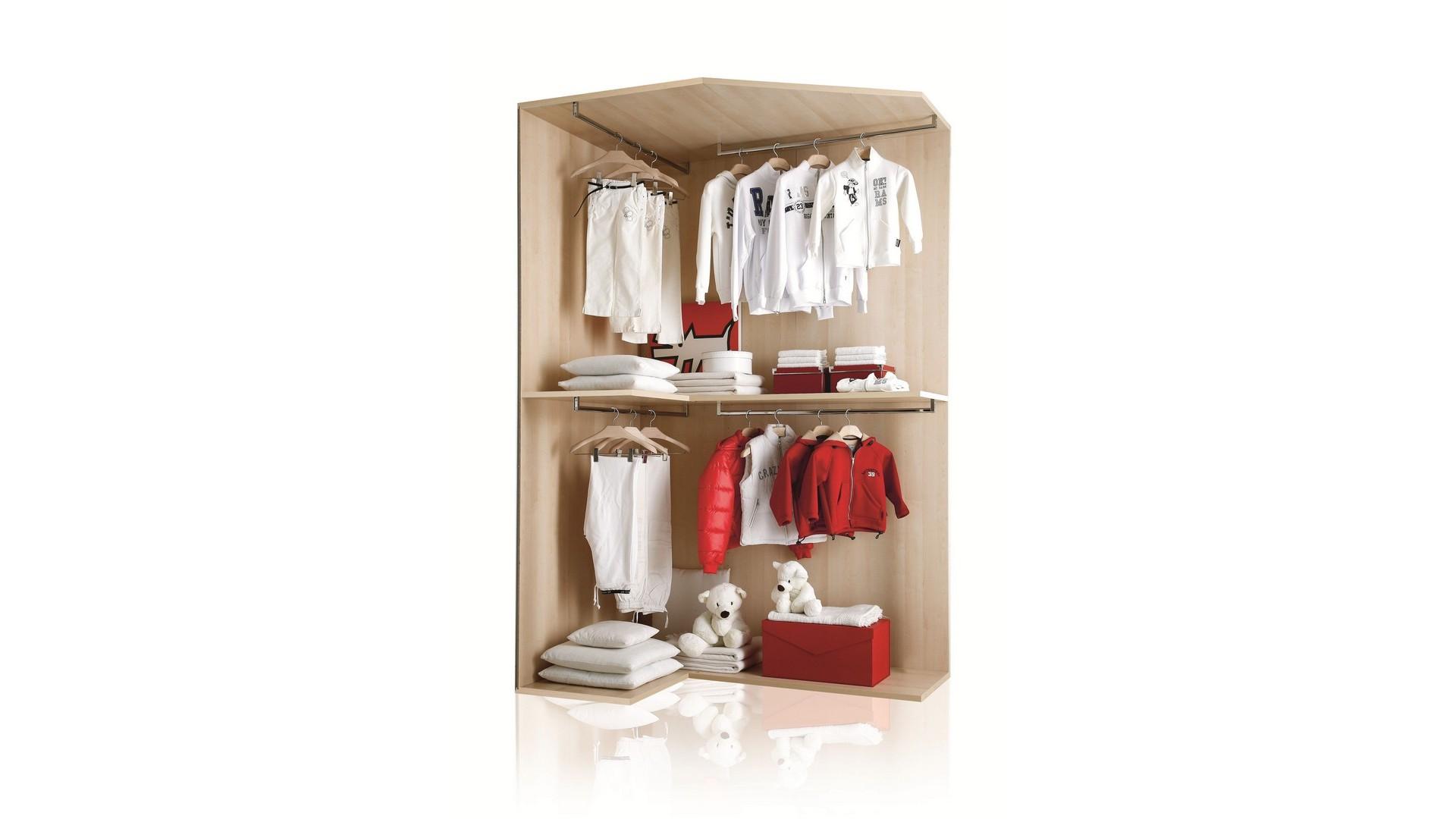 Cabine armadio modulari per camerette - Misure cabine armadio ...