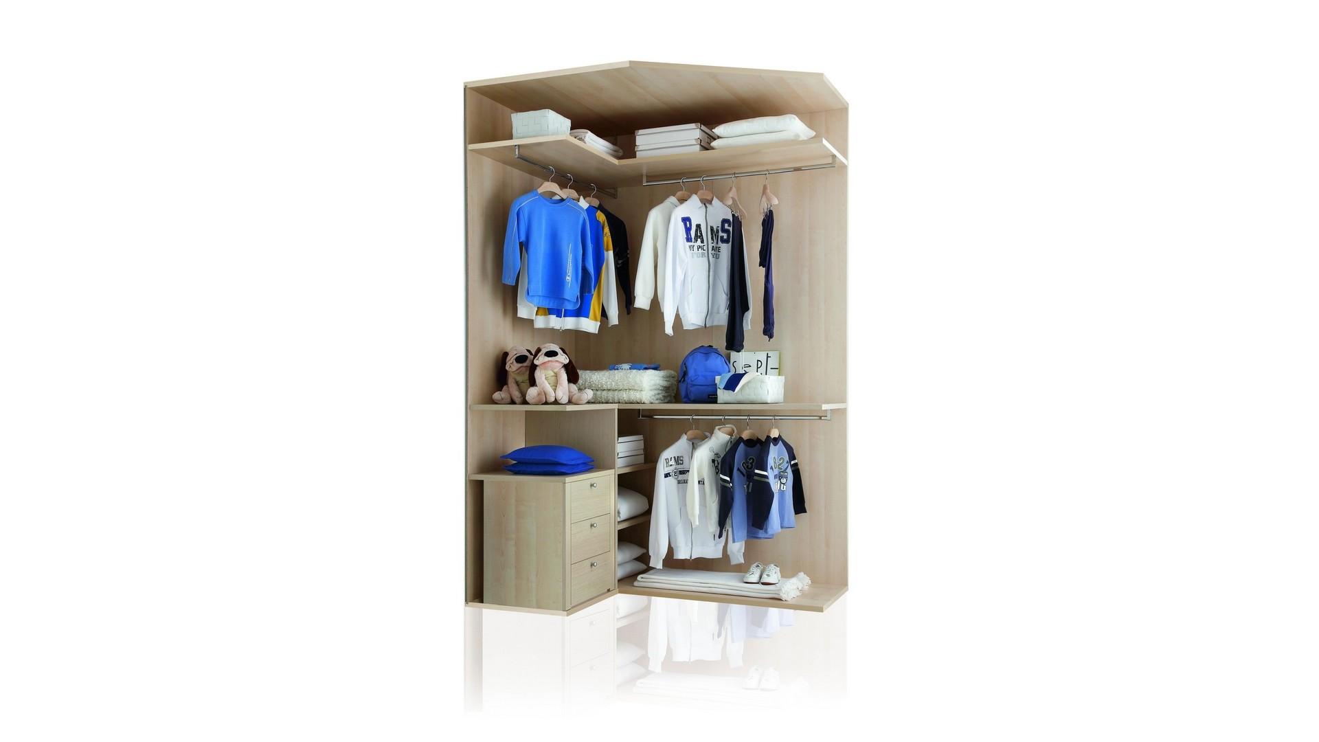 Cabine armadio modulari per camerette - Interni per cabine armadio ...