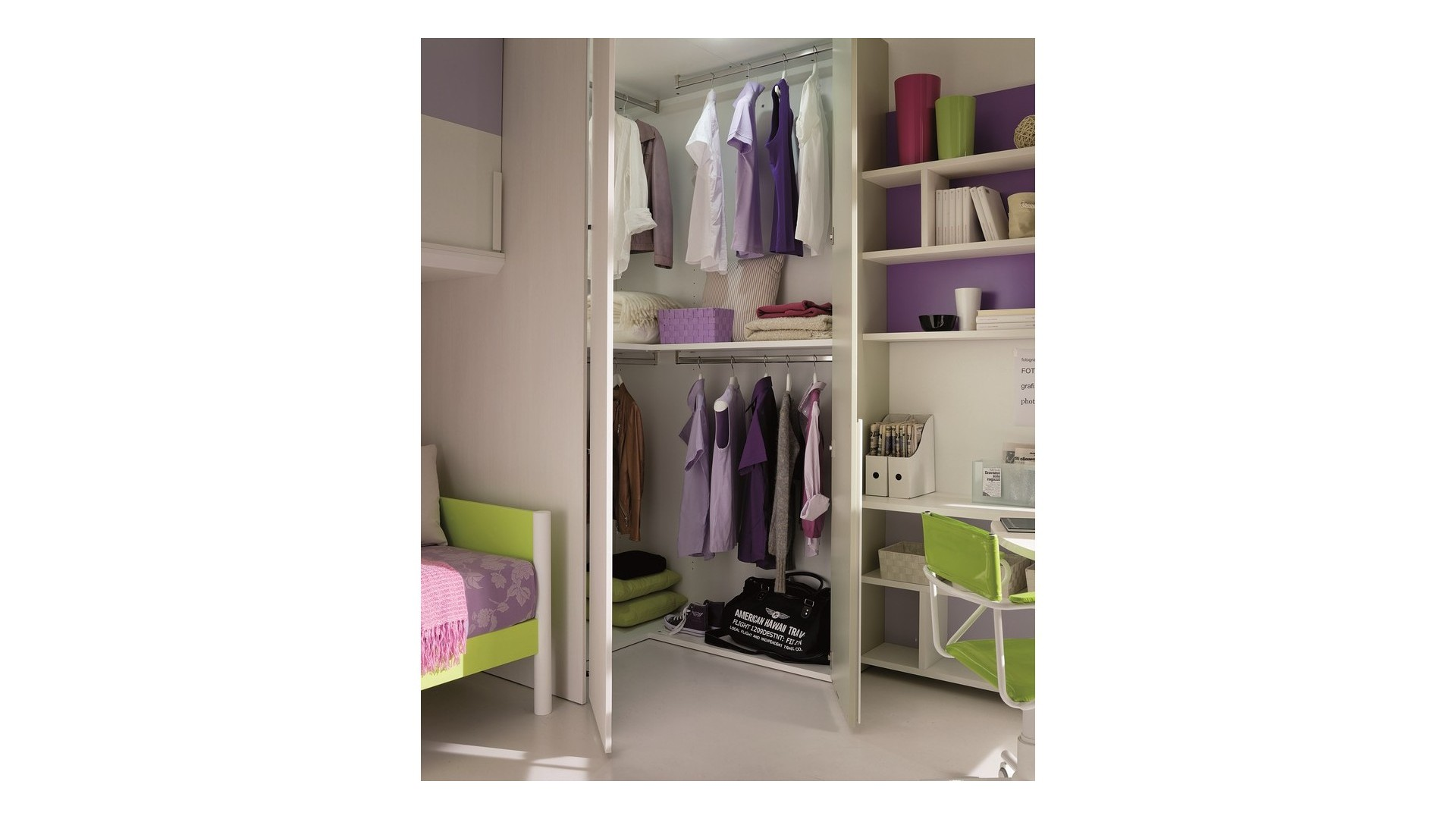 Cabine armadio modulari per camerette for Cameretta armadio