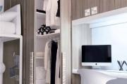 cabina armadio anta soffietto