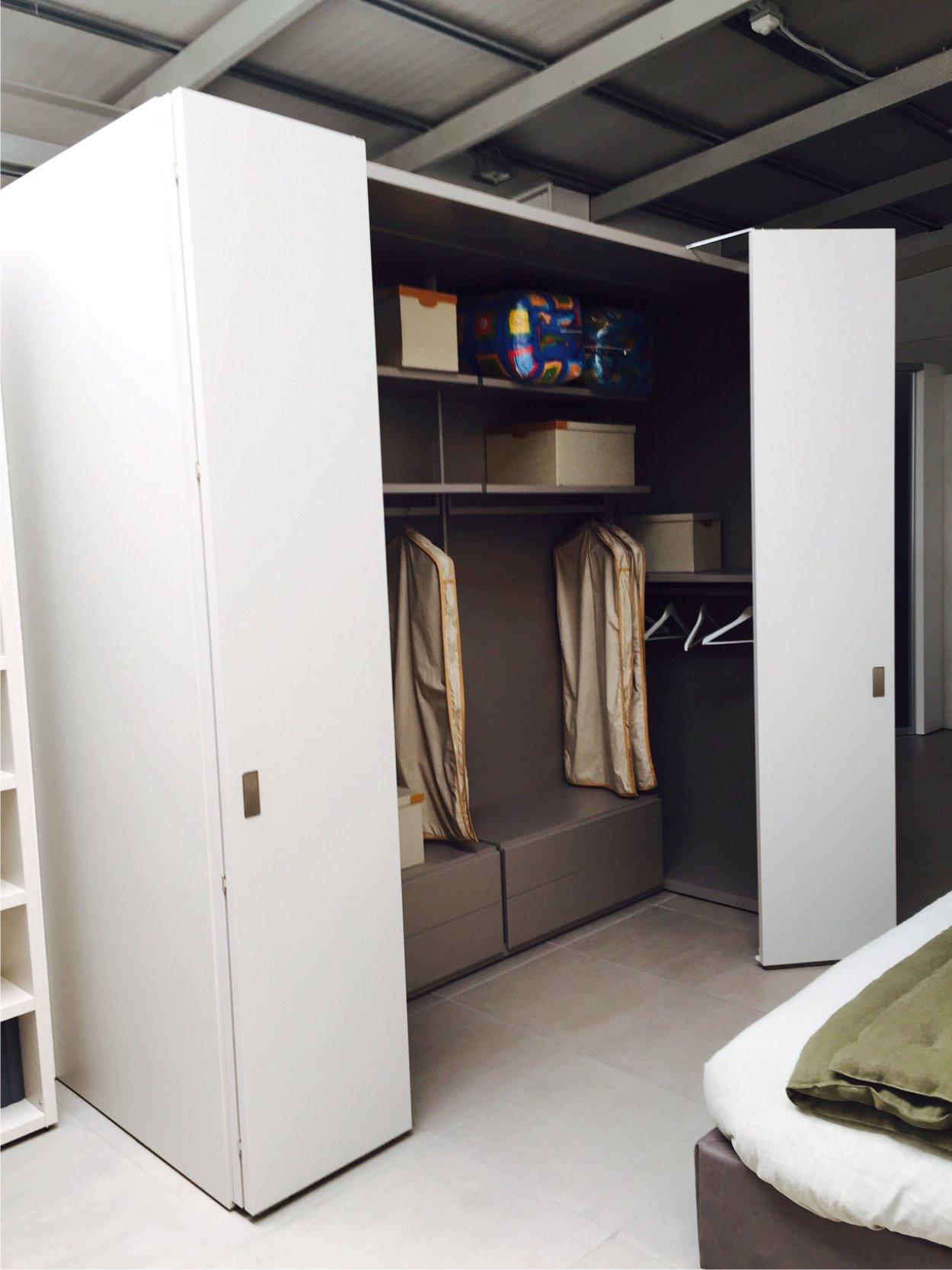 Cabina armadio camerino di caccaro offerte outlet - Misure armadio camera da letto ...
