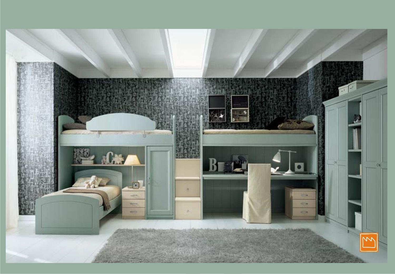 Camere Da Letto Con Letto A Soppalco : Camere da letto blu e ...