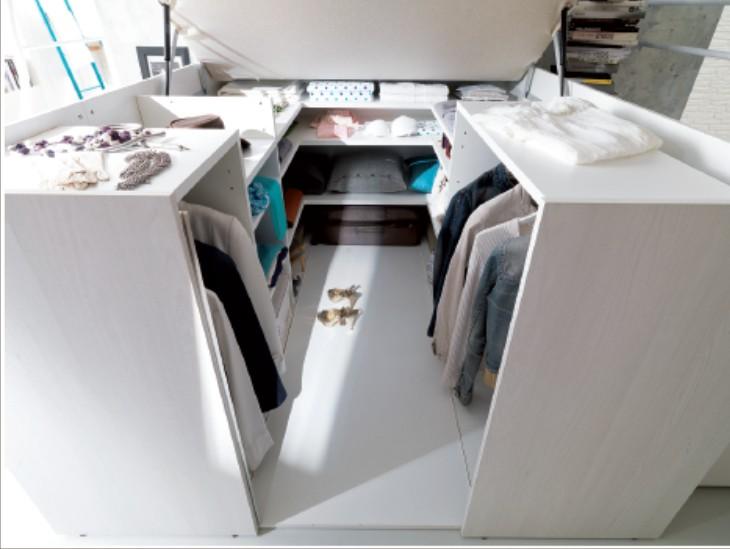 Estremamente Soppalco matrimoniale Container AQ29
