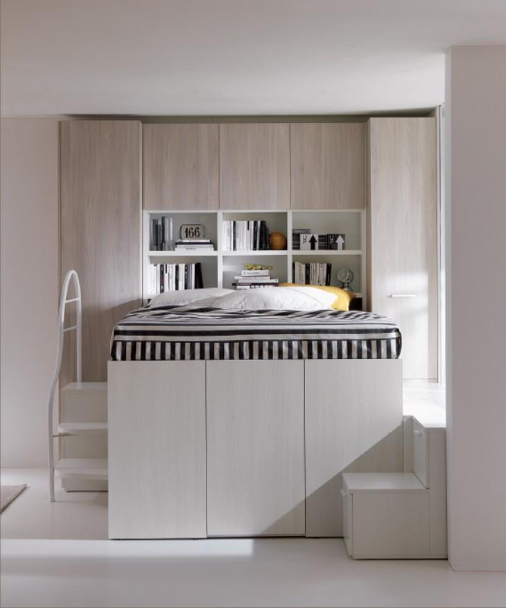 Camera da letto soppalco design casa creativa e mobili - Letto a soppalco usato ...