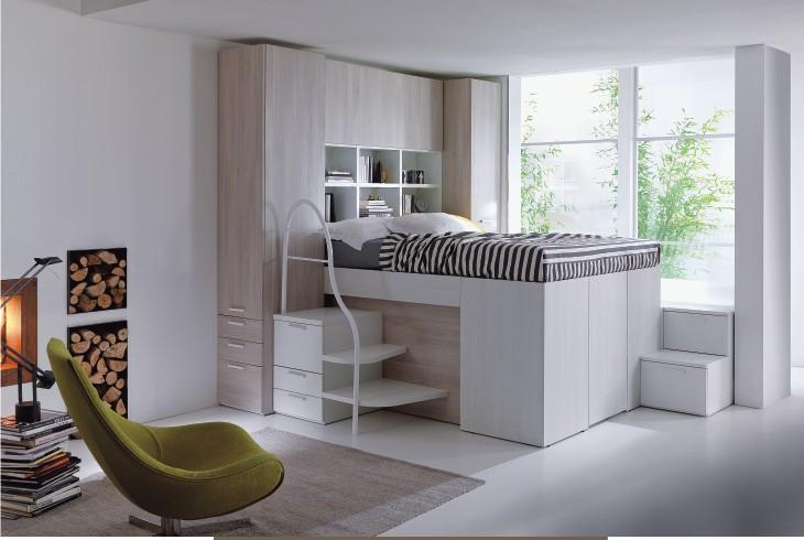 Soppalco Stanza Da Letto : Soppalco legno moderno camera da letto altro di sokolvineyard