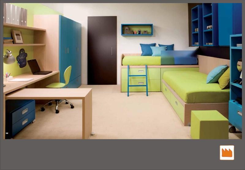 Camerette dearkids: il design per bambini