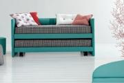 coppia di letti a divano