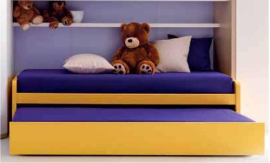 Letti Estraibili Per Bambini : Letti con secondo letto estraibile per gli ospiti