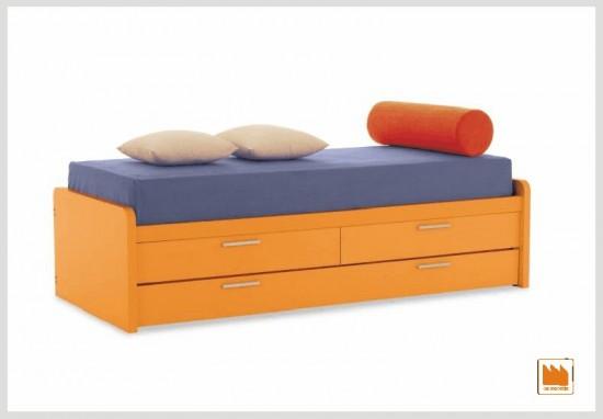 Letti con secondo letto estraibile per gli ospiti - Struttura letto singolo mondo convenienza ...