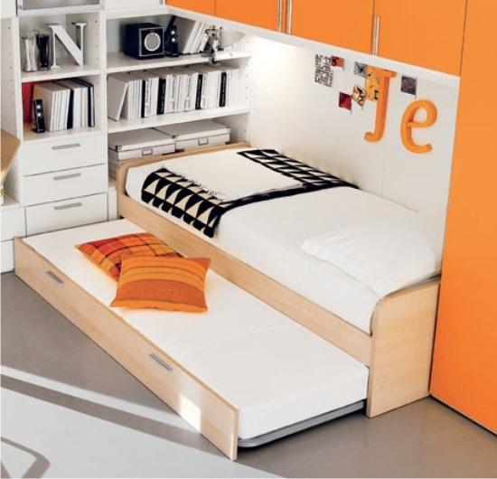 Letti con secondo letto estraibile per gli ospiti - Letto con secondo letto estraibile ...
