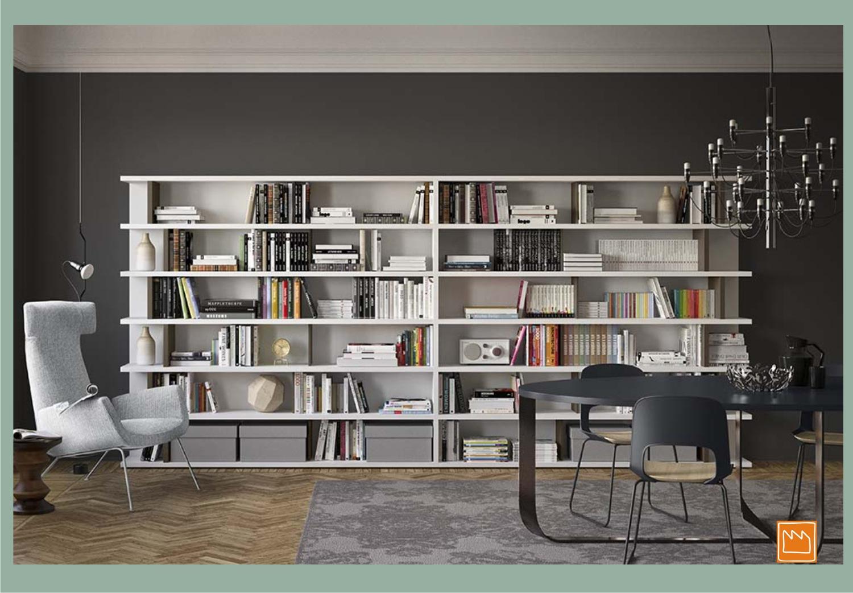 Librerie per la cameretta e per il soggiorno for Mensole libreria