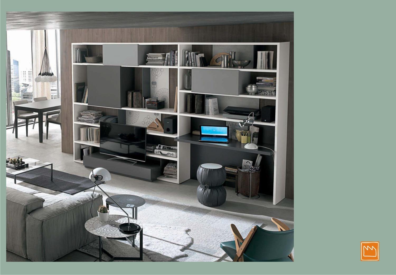 Lema mobili per il total living mobili per la tv di for Rudiana arredamenti