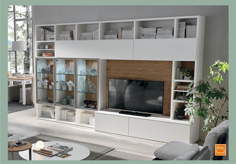 Librerie per la cameretta e per il soggiorno for Librerie bianche