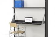letto con scrivania trasformabile