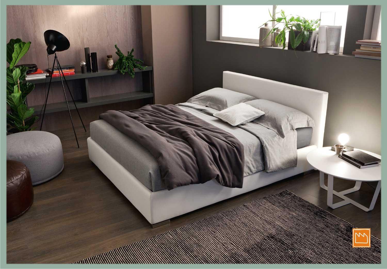 Letti matrimoniali con contenitore - Misure del letto alla francese ...