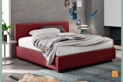 letto in ecopelle