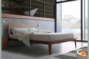 letto legno moderno