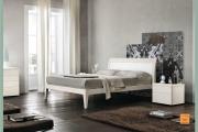 letto moderno laccato