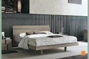 l'eleganza di un letto in legno