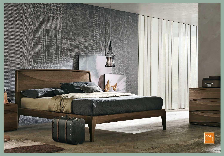 Letti matrimoniali moderni - Camera da letto pianca ...