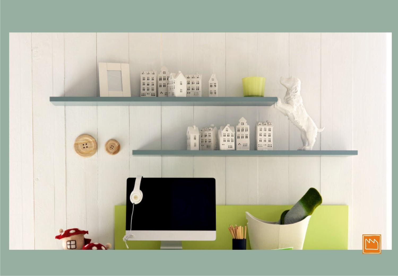 Mensole lineari le camerette per bambini - Mensole per camera bambini ...