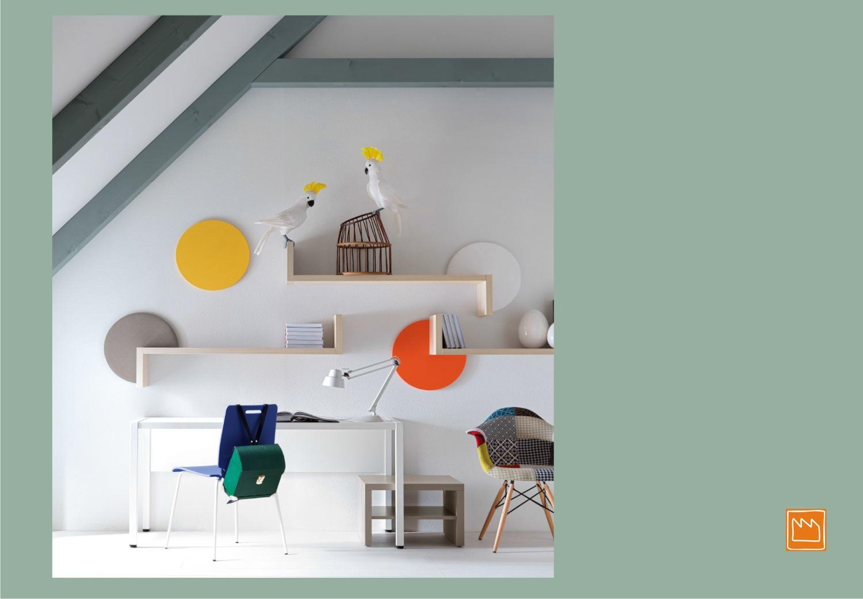 Mensole lineari le camerette per bambini - Mobili per bambini design ...