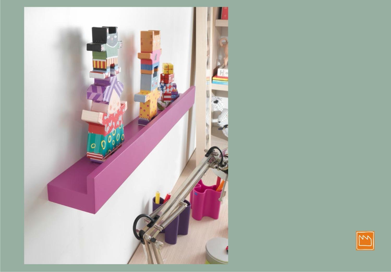 Mensole lineari le camerette per bambini for Mensola per quadri