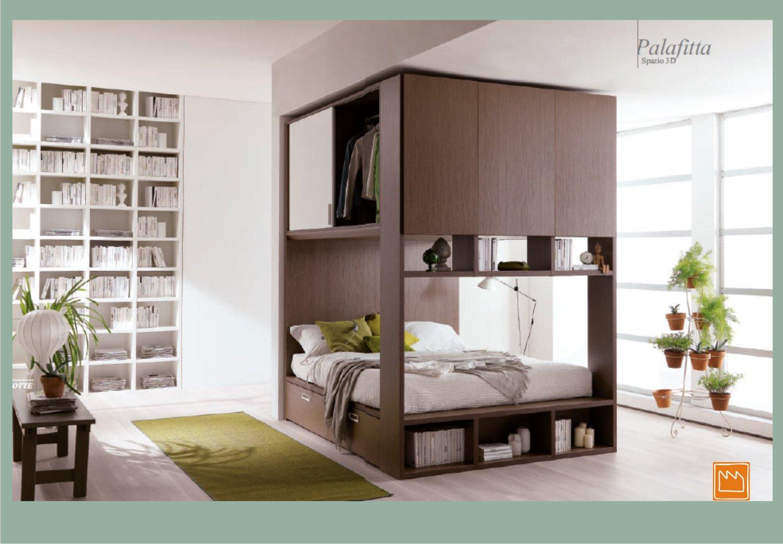 Palafitta: un nuovo concetto di camera matrimoniale