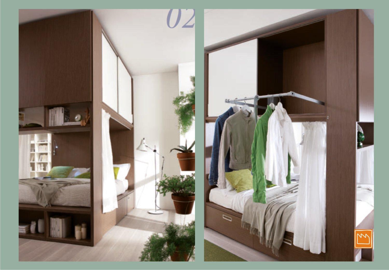 Palafitta la camera a ponte compatta e super capiente - Semeraro camere da letto ...