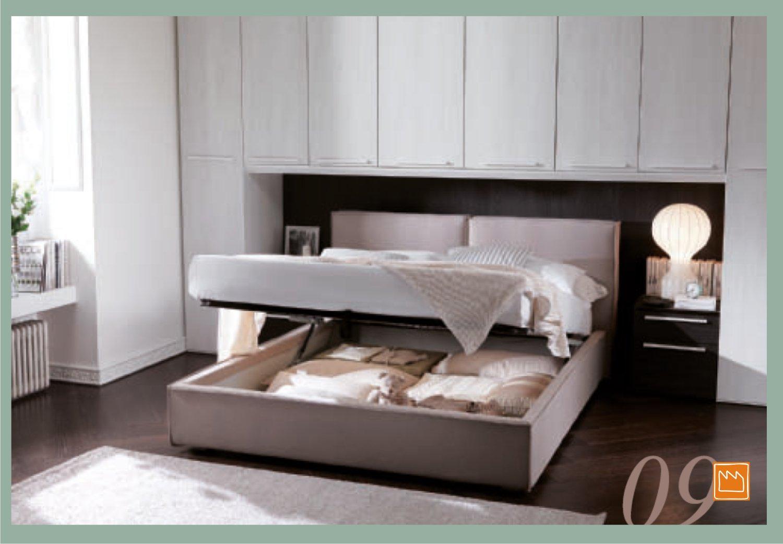 Camera a ponte xl con letto matrimoniale contenitore - Dove comprare un letto matrimoniale ...