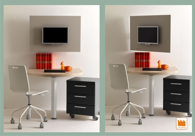 Pannello porta tv camerette per raqgazzi for Mobile per cameretta