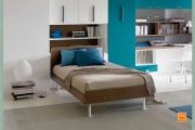letto in legno- piazza e mezzo