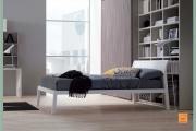 letto moderno bianco