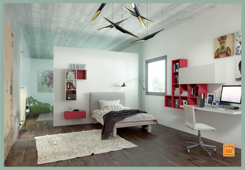 Pareti casa colorate - Letto a soppalco usato ...