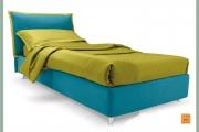 letto moderno bicolore