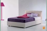 letto bianco contenitore a Milano