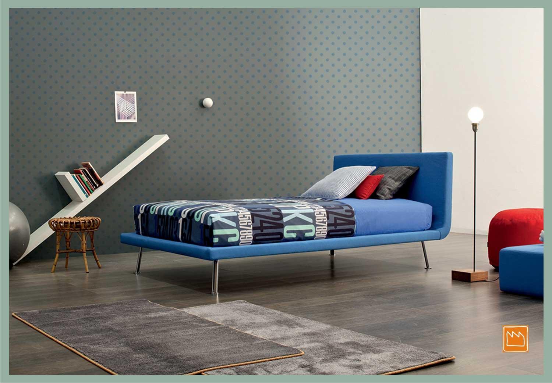 Letti imbottiti da una piazza e mezzo - Ikea tessili letto ...