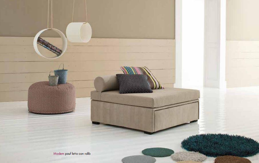 Pouff letto singolo trasformabili da fabbrica camerette - Pouf letto mercatone uno ...