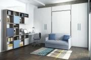 Camera a scomparsa con divanetto