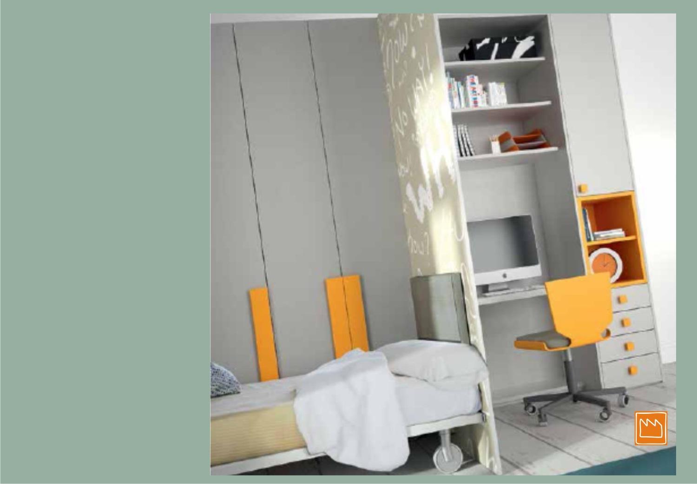 Scrivania: Letti per armadio a. Soppalco con cabina armadio scrivania ...
